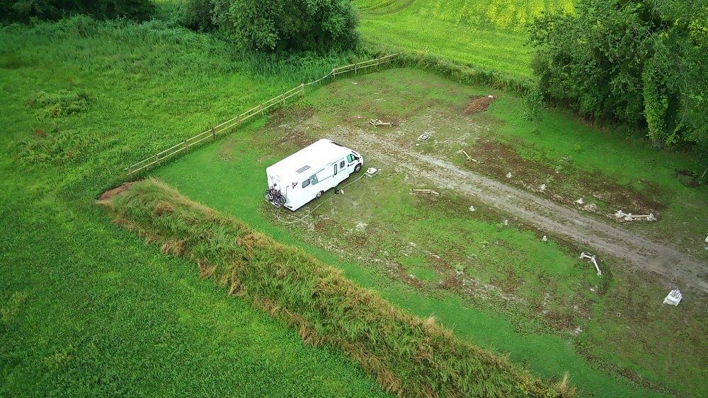 Aire camping-car à Créances (50710) - Photo 6